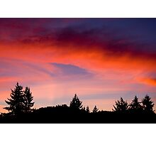 Red Sky At Night ... Sailors Delight Photographic Print