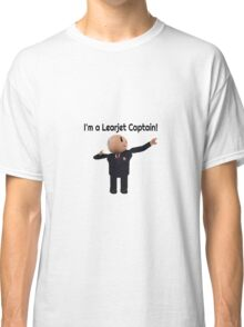Learjet Captain gear Classic T-Shirt