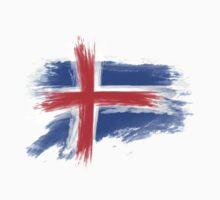 Iceland flag Baby Tee