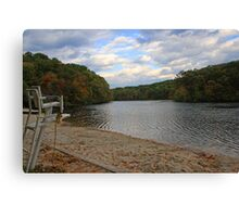 Lake in the Fall 2 Canvas Print