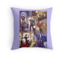 Once Upon A Time - main cast Throw Pillow