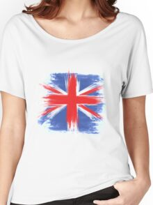 England Flag Great Britain Flag united kingdom Women's Relaxed Fit T-Shirt