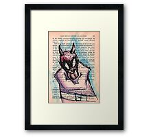 Demon in a Straightjacket Framed Print