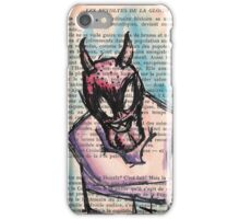 Demon in a Straightjacket iPhone Case/Skin