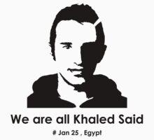 We are all Khaled Said by Hema-Sama