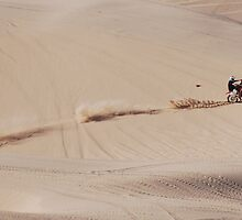 Riding in the Imperial Valley Sand Dunes by barnsis
