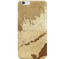 Buzzards Bay and Vineyard Sound Massachusetts Map (1776) iPhone Case/Skin
