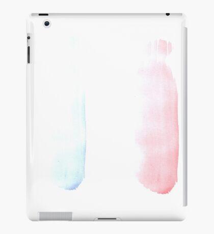 France flag brush stroke iPad Case/Skin
