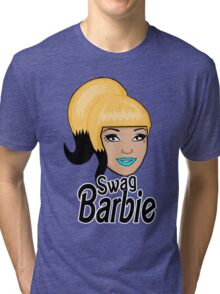 swag barbie Tri-blend T-Shirt