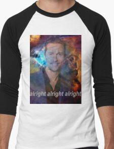 alright alright alright galaxy Men's Baseball ¾ T-Shirt