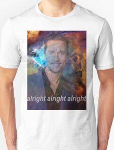 alright alright alright galaxy Unisex T-Shirt