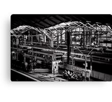 Platform 9 and 10 Canvas Print