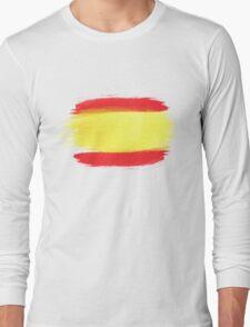 Spain Flag Spanish Flag Long Sleeve T-Shirt