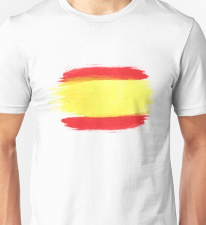 Spain Flag Spanish Flag Unisex T-Shirt