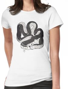 Chloe's Snake Shirt - Episode 5 Womens Fitted T-Shirt
