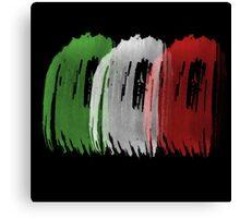 Italy Flag italian rome Canvas Print