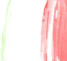 Italy Flag italian rome Sticker