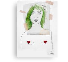 that girl Canvas Print