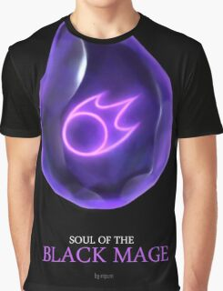 Soul of the Black Mage -black Graphic T-Shirt