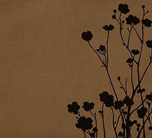 Buttercups in Brown & Gray by Elle Campbell