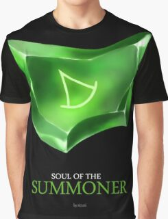 Soul of the Summoner -black Graphic T-Shirt