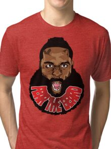 Fear the beard! Tri-blend T-Shirt