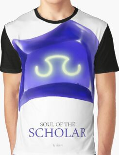 Soul of the Scholar -white Graphic T-Shirt
