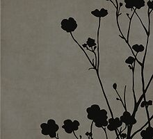 Buttercups in Gray by Elle Campbell