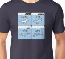 Unicorn Evolution (Noah is a jerk) Unisex T-Shirt