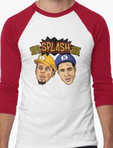 Super Splash Bros Men's Baseball ¾ T-Shirt