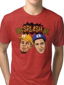 Super Splash Bros Tri-blend T-Shirt