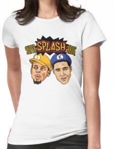 Super Splash Bros Womens Fitted T-Shirt