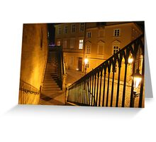 Stair Greeting Card