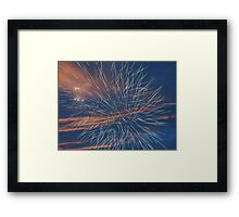 Multiple Exposure #2 Framed Print