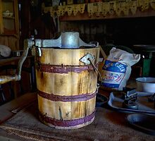 The Kitchen - Sir Donald Bradman's home - Temora NSW by Rosalie Dale
