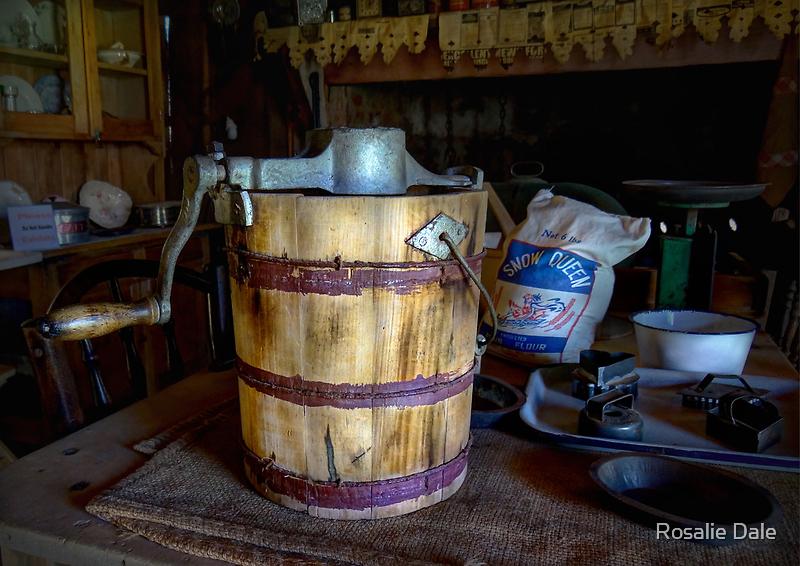 The Kitchen - Sir Donald Bradman's home - Temora NSW by Rosalie Dale