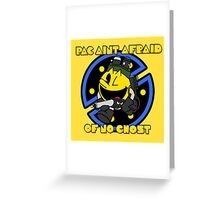 Ghost Muncher  Greeting Card