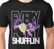 Everypony Shufflin in Color!(For Black Shirt) Unisex T-Shirt