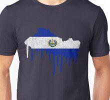 El Salvador Paint Drip Unisex T-Shirt