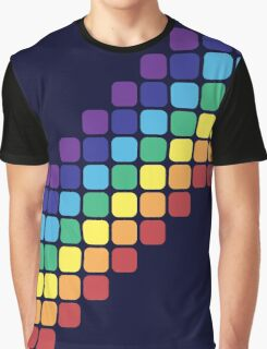 Rainbow Staircase Graphic T-Shirt