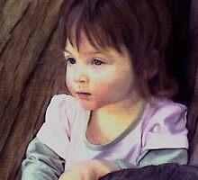 Little child portrait by shallay
