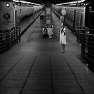 A Woman Gathering Stillness by Mary Ann Reilly