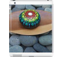 Colorful Mandala on stone /rock iPad Case/Skin
