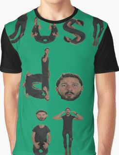 Shia Labeouf - Just Do It Graphic T-Shirt