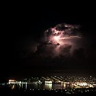 Spectacular Lightning Storm #2 - Port Lincoln, South Australia by Ben Scholz