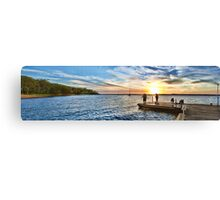Murray's Sunset Panorama Canvas Print