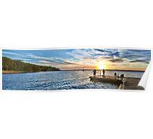 Murray's Sunset Panorama Poster