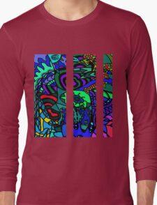 CRUX alternate colour - psychedelic artwork Long Sleeve T-Shirt
