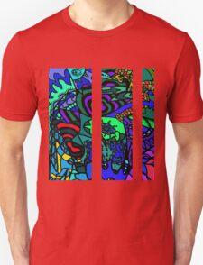 CRUX alternate colour - psychedelic artwork T-Shirt