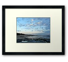 Cape Paterson Christmas Eve 2011 Framed Print